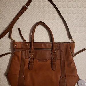 Sole society leather handbag